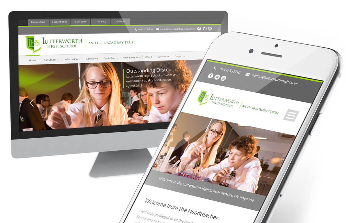 responsive website design in leicester