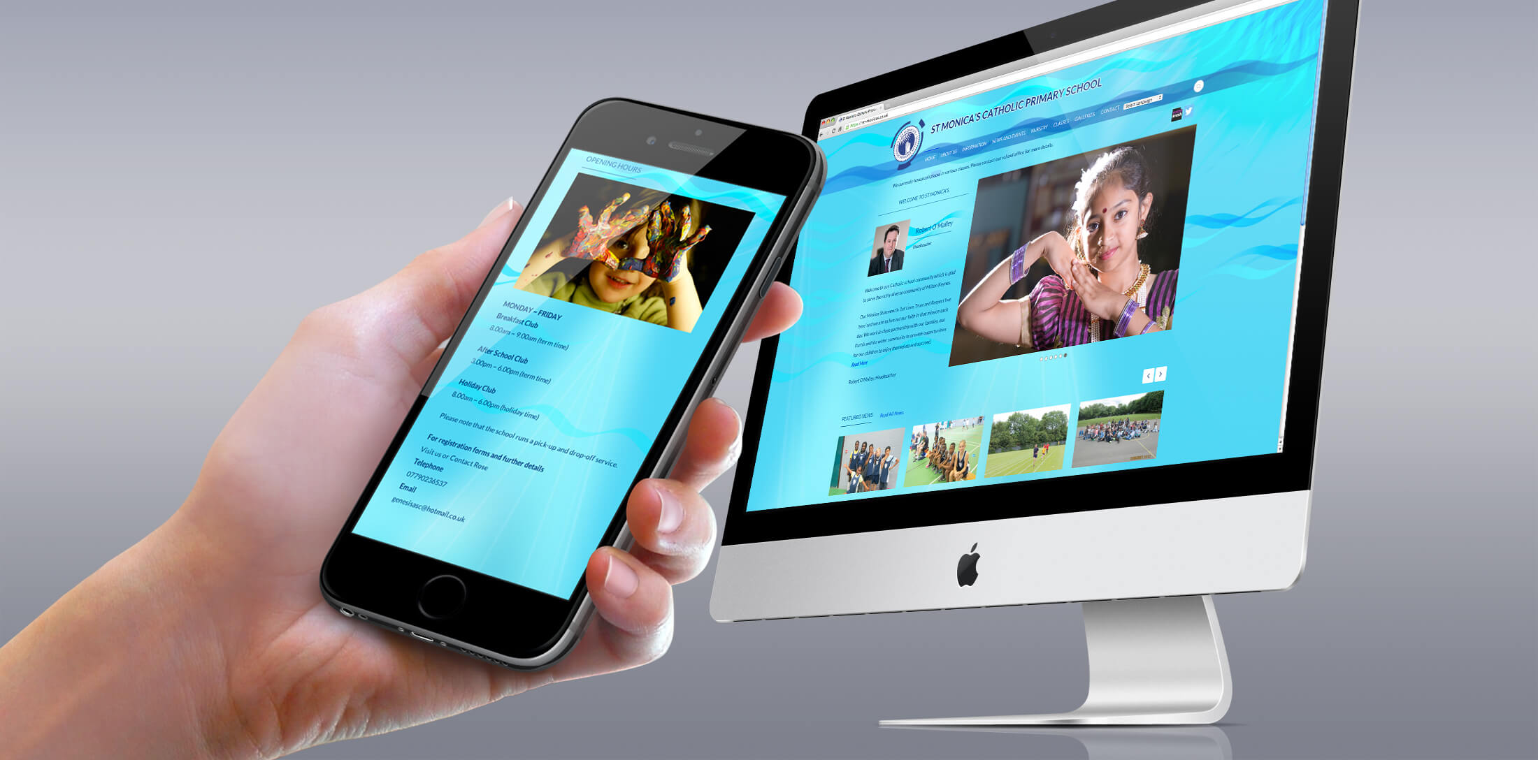 school website design milton keynes