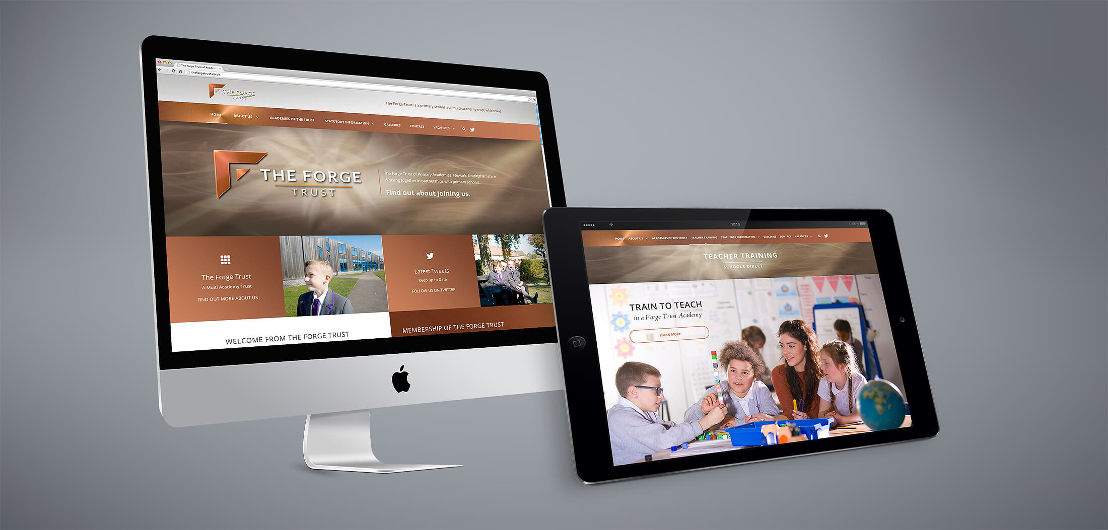 web design multi academy trust