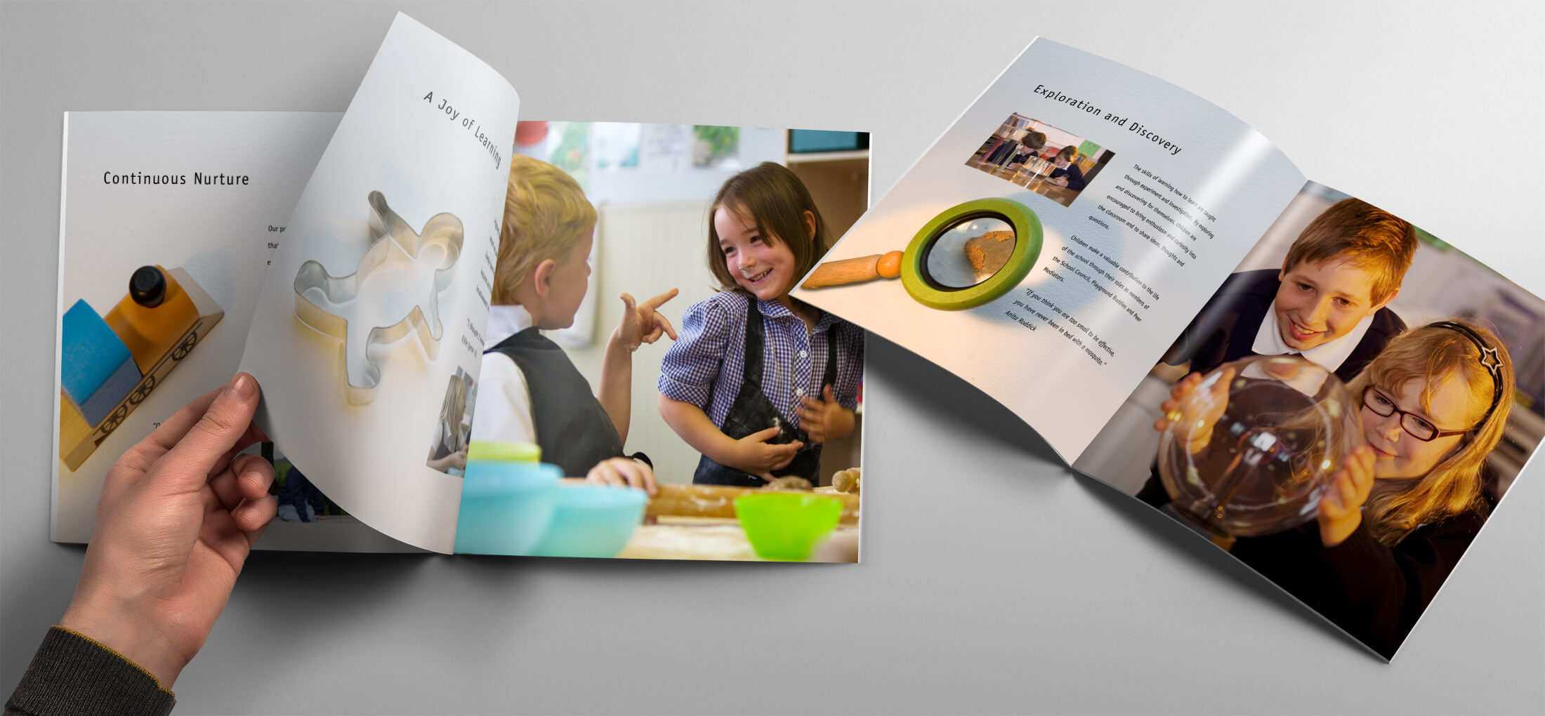 best school prospectus design project