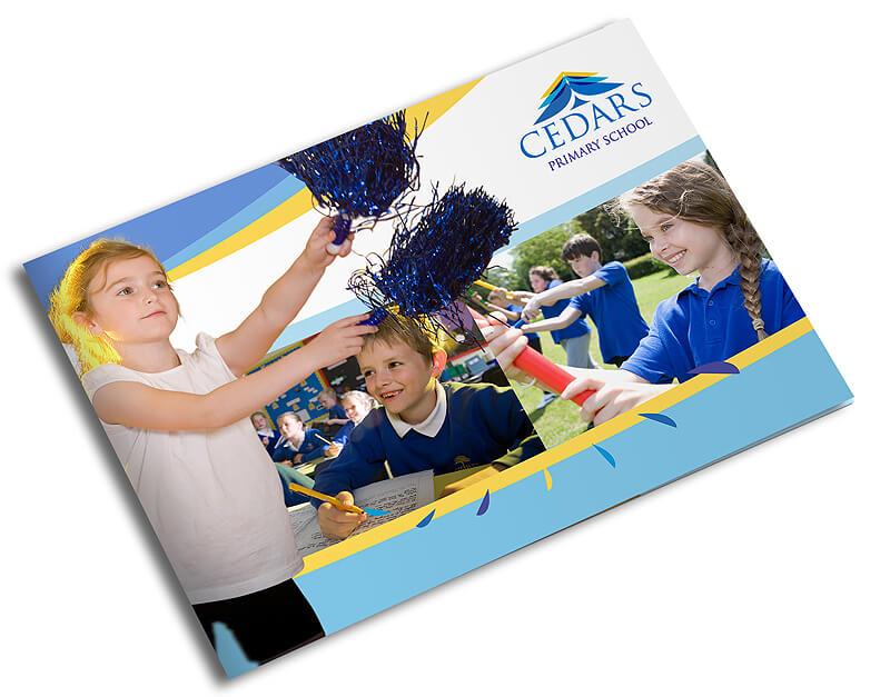 school brochure design northamptonshire