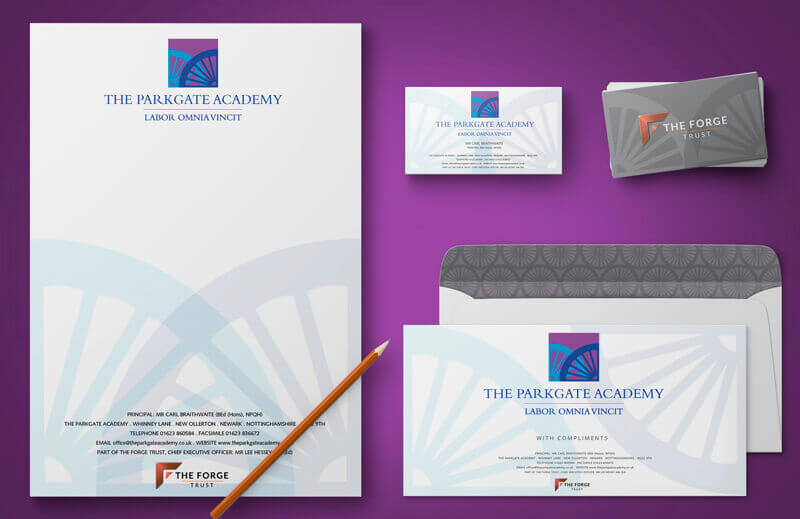 school branding logo design