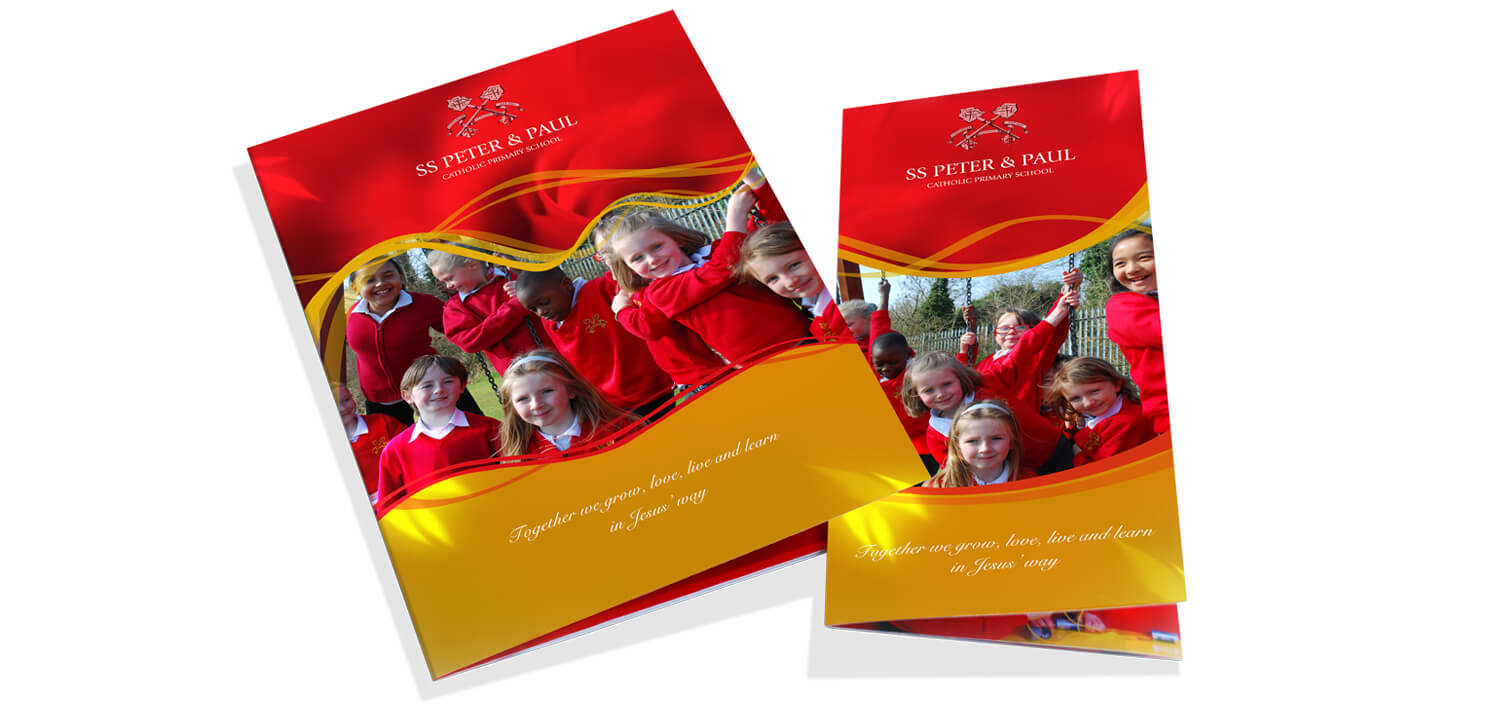 catholic prospectus design