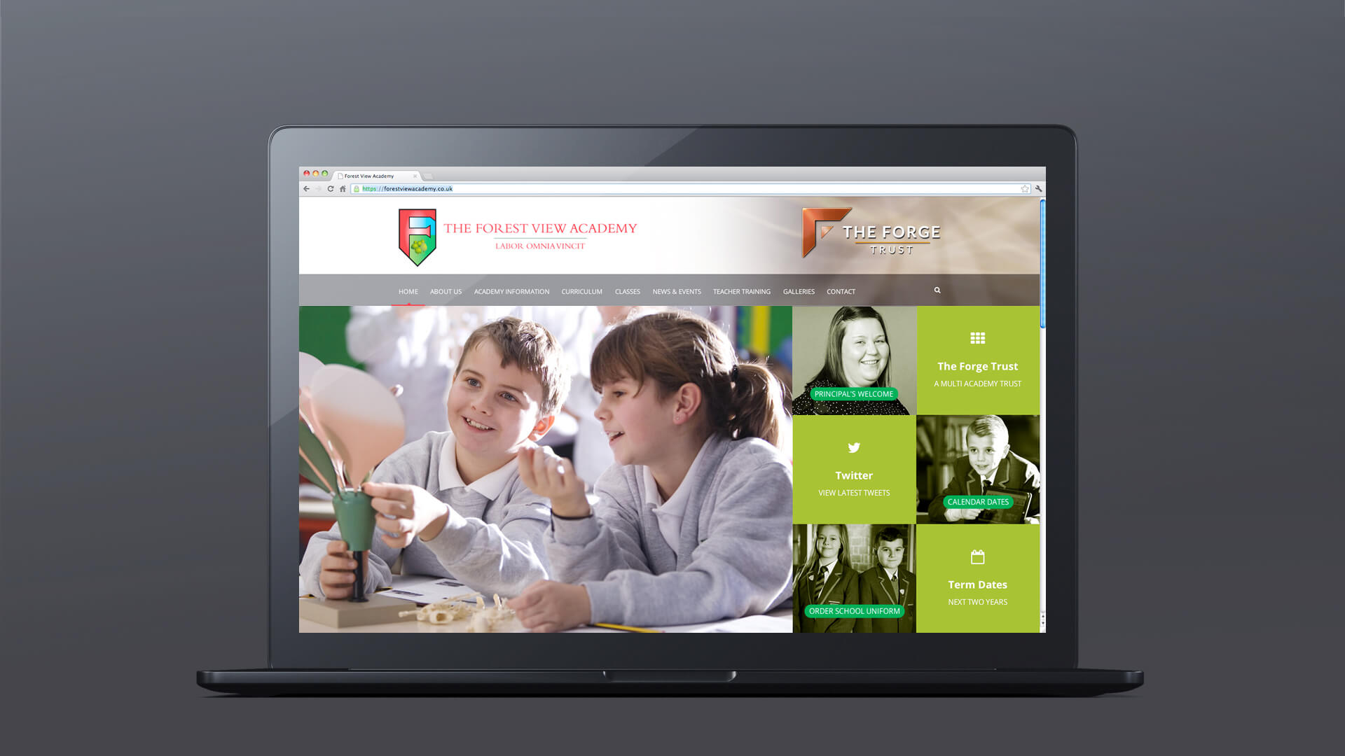 nottinghamshire academies website